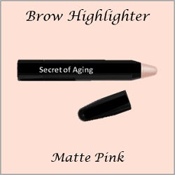 Brow Highlighter Matte Pink by Secret of Aging