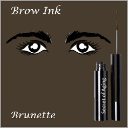 Brow Ink Brunette by Secret of Aging