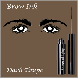 Brow Ink Dark Taupe by Secret of Aging