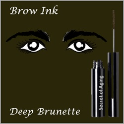 Brow Ink Deep Brunette by Secret of Aging