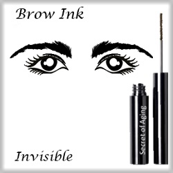 Brow Ink Invisible by Secret of Aging