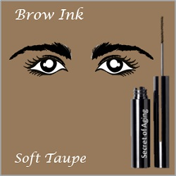 Brow Ink Soft Taupe by Secret of Aging