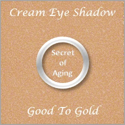 Cream Eye Shadow Good To Gold by Secret of Aging