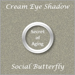 Cream Eye Shadow Social Butterfly by Secret of Aging