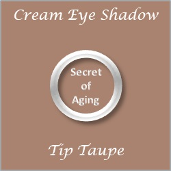 Cream Eye Shadow Tip Taupe by Secret of Aging