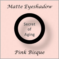 Matte Eyeshadow Pink Bisque by Secret of Aging