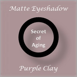 Matte Eyeshadow Purple Clay by Secret of Aging
