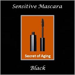 Sensitive Mascara Black by Secret of Aging