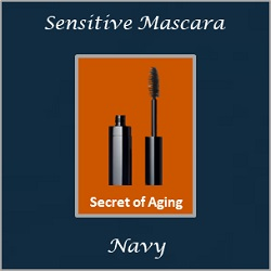 Sensitive Mascara Navy by Secret of Aging