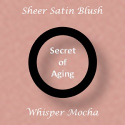 Sheer Satin Blush - Whisper Mocha