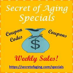 Weekly Specials @ Secret of Aging
