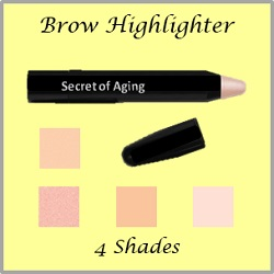 Brow Highlighter in 4 Shades by Secret of Aging