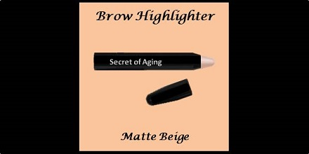 Brow Highlighter Matte Beige by Secret of Aging