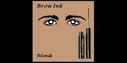 Brow Ink Blonde by Secret of Aging