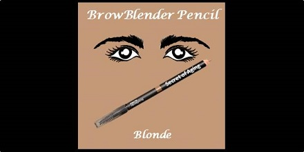 BrowBlender Pencil Blonde by Secret of Aging