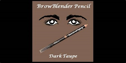 BrowBlender Pencil Dark Taupe by Secret of Aging