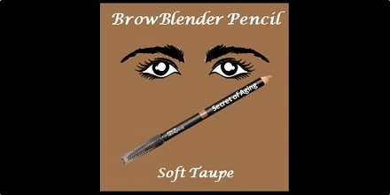 BrowBlender Pencil Soft Taupe by Secret of Aging