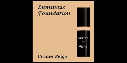 Luminous Foundation Cream Beige by Secret of Aging