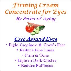 Firming Eye Cream Concentrate Care Around Eyes
