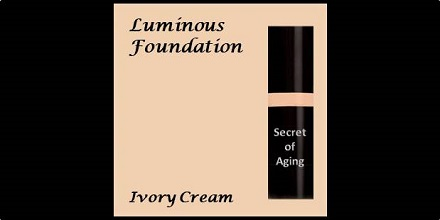 Luminous Foundation Ivory Cream by Secret of Aging
