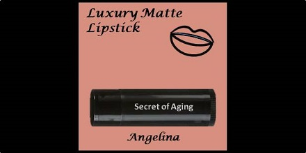 Luxury Matte Lipstick Angelina by Secret of Aging