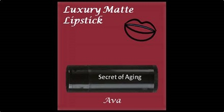 Luxury Matte Lipstick Ava by Secret of Aging