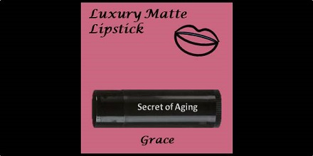Luxury Matte Lipstick Grace by Secret of Aging