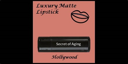 Luxury Matte Lipstick Hollywood by Secret of Aging