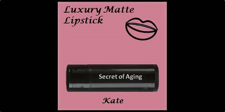 Luxury Matte Lipstick Kate by Secret of Aging