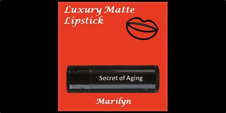 Luxury Matte Lipstick Marilyn by Secret of Aging