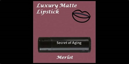 Luxury Matte Lipstick Merlot by Secret of Aging