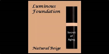 Luminous Foundation Natural Beige by Secret of Aging