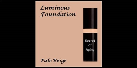 Luminous Foundation Pale Beige by Secret of Aging