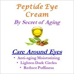 Peptide Eye Cream Care Around Eyes