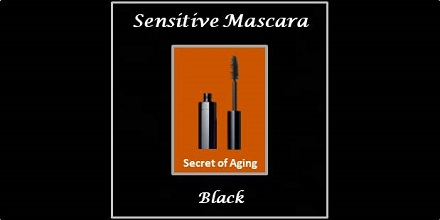 Sensitive Mascara Black by Secret of Aging