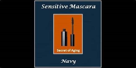 Sensitive Mascara Navy by Secret of Aging