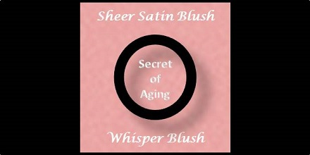 Sheer Satin Blush Whisper Blush by Secret of Aging