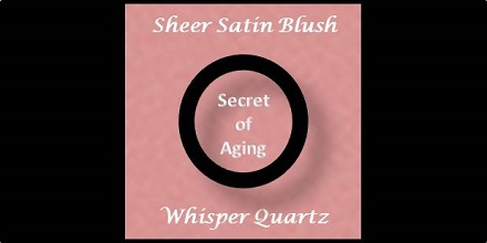 Sheer Satin Blush Whisper Quartz by Secret of Aging