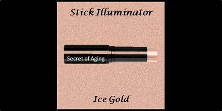 Stick Illuminator Ice Gold by Secret of Aging