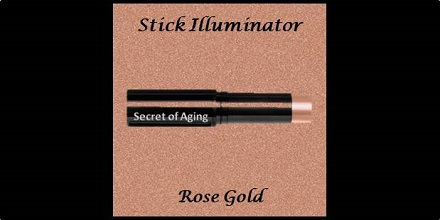 Stick Illuminator Rose Gold by Secret of Aging
