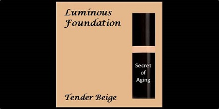 Luminous Foundation Tender Beige by Secret of Aging