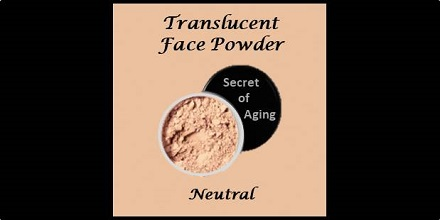 Translucent Face Powder Neutral by Secret of Aging