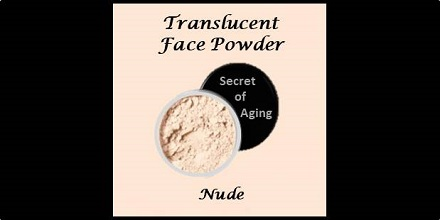 Translucent Face Powder Nude by Secret of Aging
