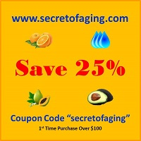 Secret of Aging 25% OFF Coupon