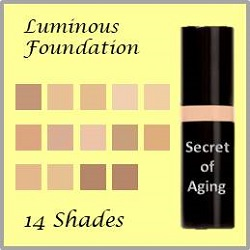 luminous foundation by secret of aging