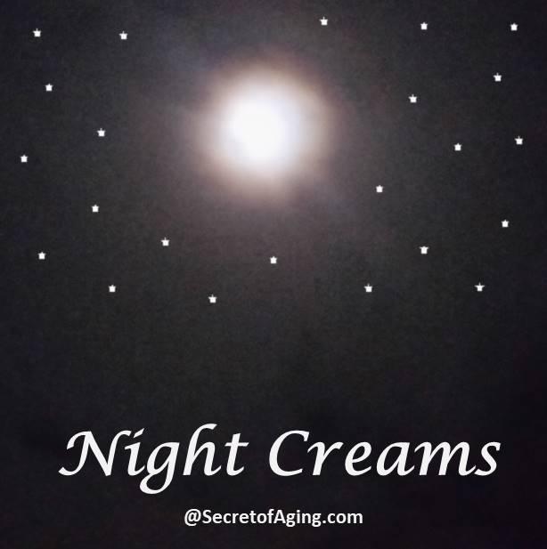 night creams by Secret of Aging
