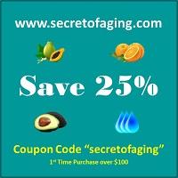 25% OFF with secretofaging Coupon Code