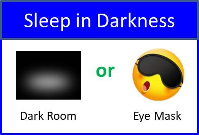 Secret of Aging Sleep in Darkness