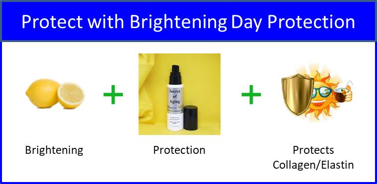 Secret of Aging Protect with Brightening Day Protection