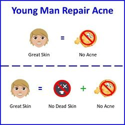 Secret of Aging Young Man Repair Acne